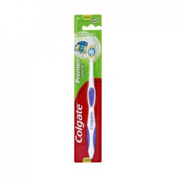 Colgate cepillo dental premier white