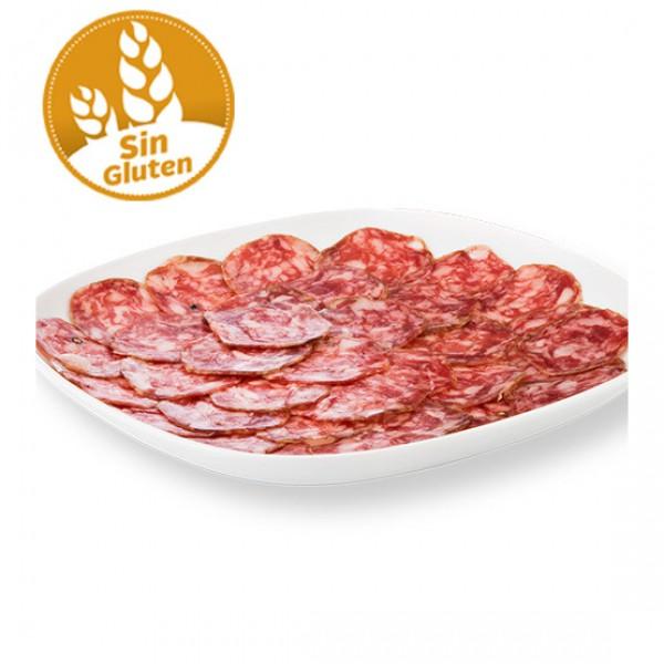 Salchichón extra producción ecológica sin gluten y sin lactosa (vacío 100 gr. aprox.)