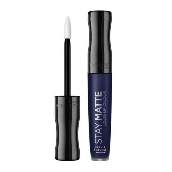 Rimmel stay matte liquid lip colour vernis a levres 830 blue