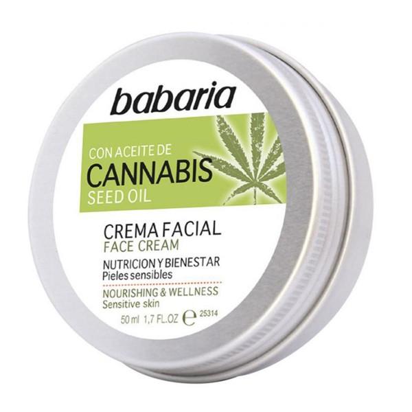 Babaria cannabis crema facial 50ml