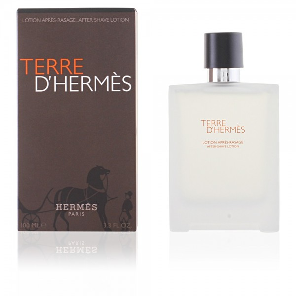 Hermes terre d'hermes after-shave lotion 100ml