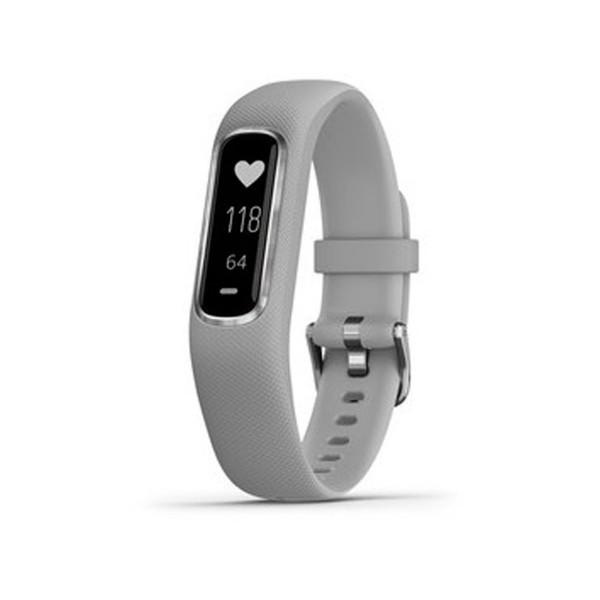 Garmin vivosmart 4 gris talla s/m pulsera monitor de actividad inteligente