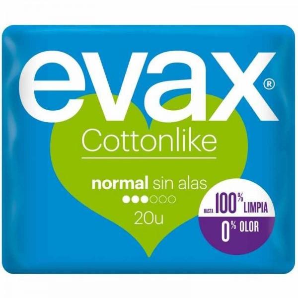 Evax cottonlike normal sin alas 20 uds
