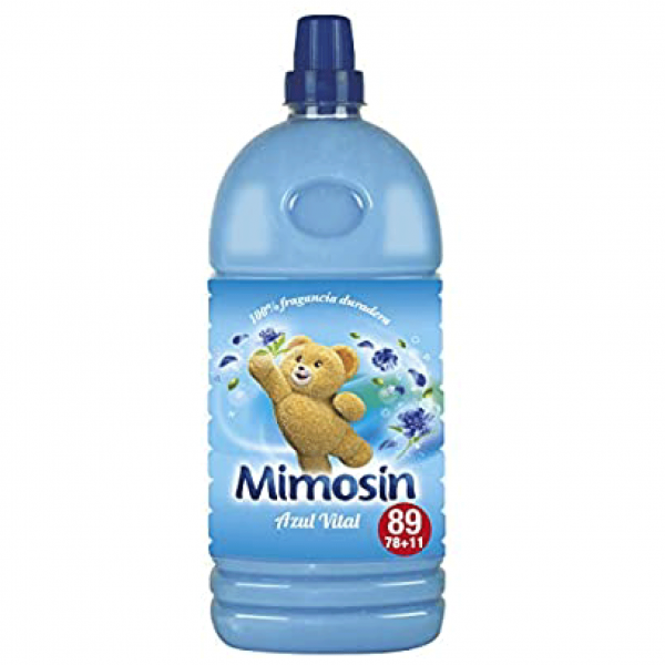 Mimosin suavizante azul vital  78 dosis