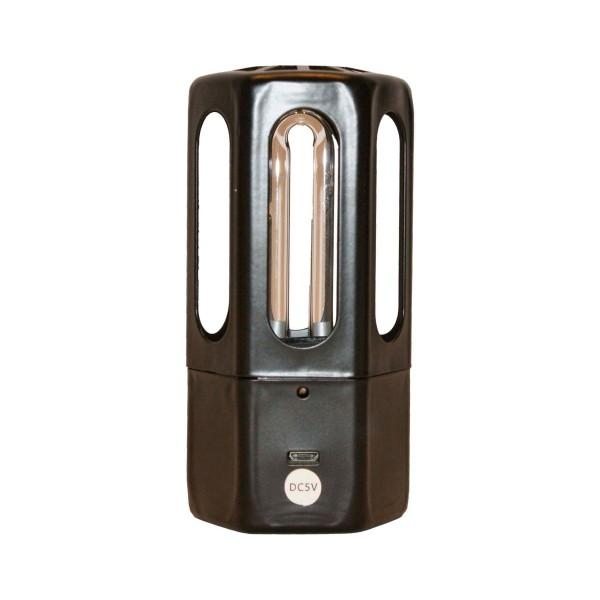 Goozono mini lámpara uva+ozono 5m 3.8w portátil recargable por usb