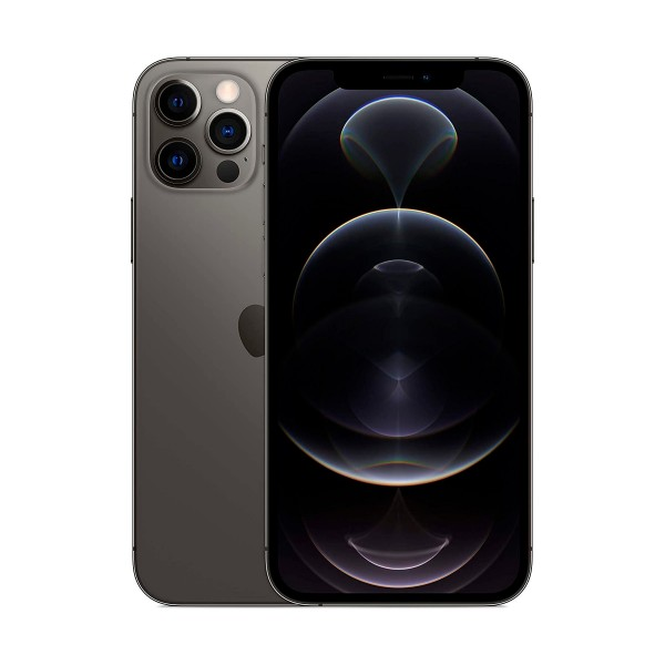 Apple iphone 12 pro grafito móvil dual sim 5g 6.1'' oled super retina xdr cpu a14 bionic 128gb 6gb ram tricam 12mp selfies 12mp