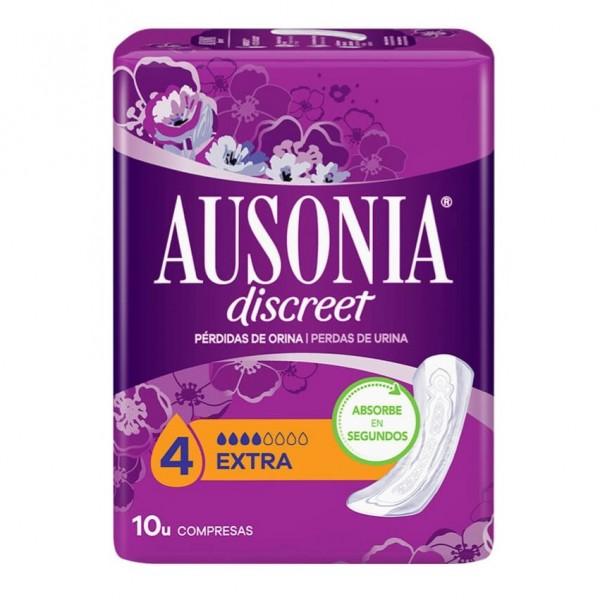 AUSONIA DISCREET EXTRA 10 COMPRESAS