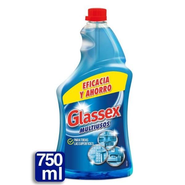 Glassex multiusos recambio spray 750 ml